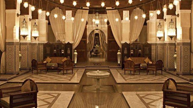 Lyxhotellet Royal Mansour i Marocko